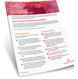How to evaluate a childcare program checklist