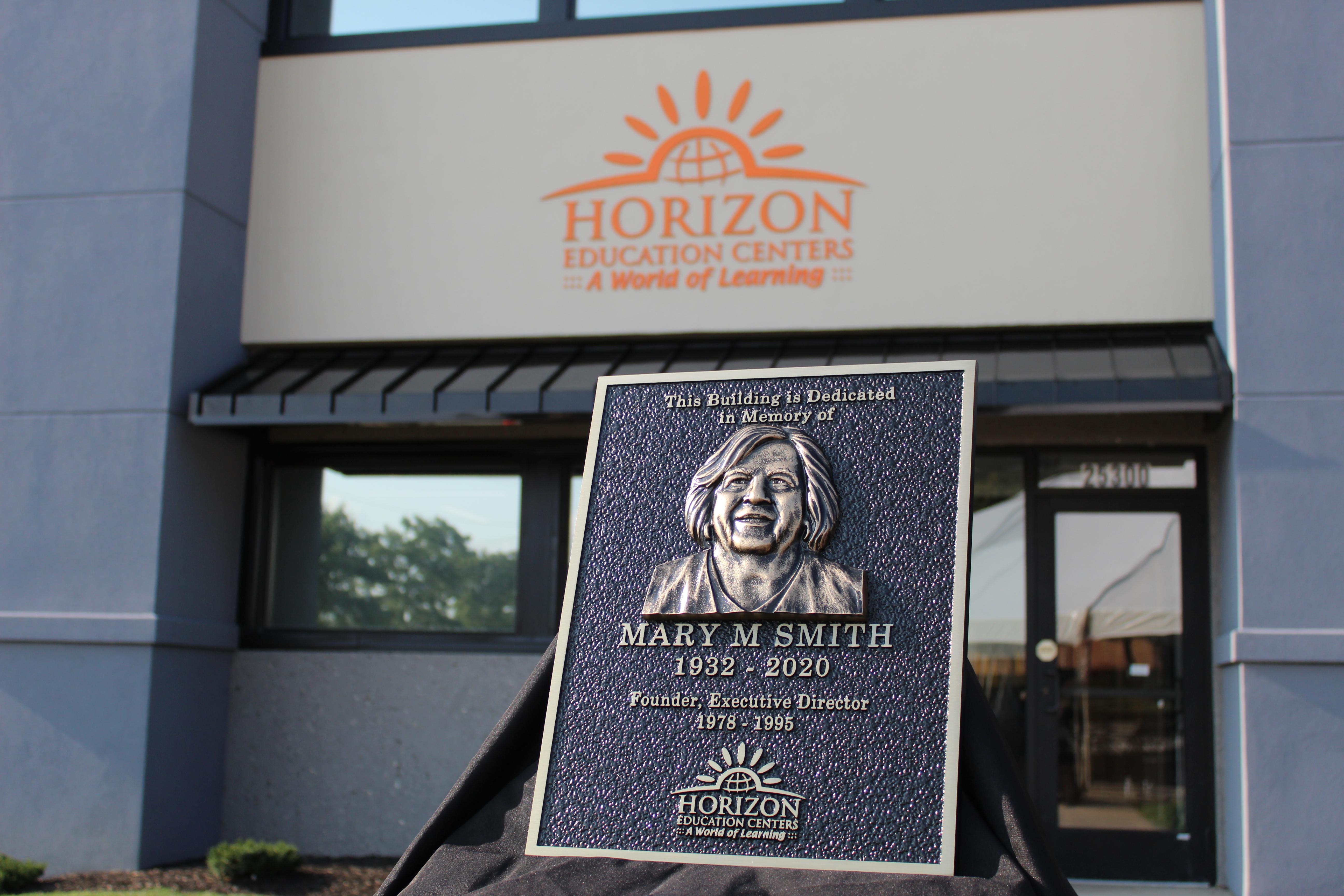 Horizon Administration Building Dedicated To Mary Smith