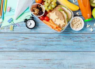 4 Easy School Lunches