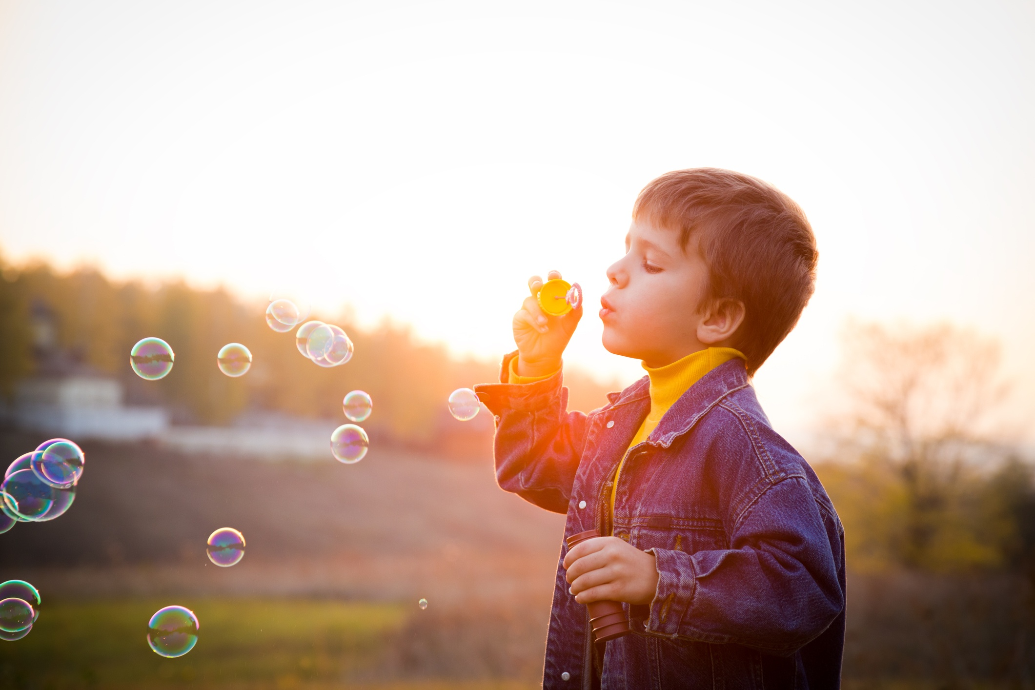 Inexpensive Ways to Have Bubble Fun with Preschoolers!