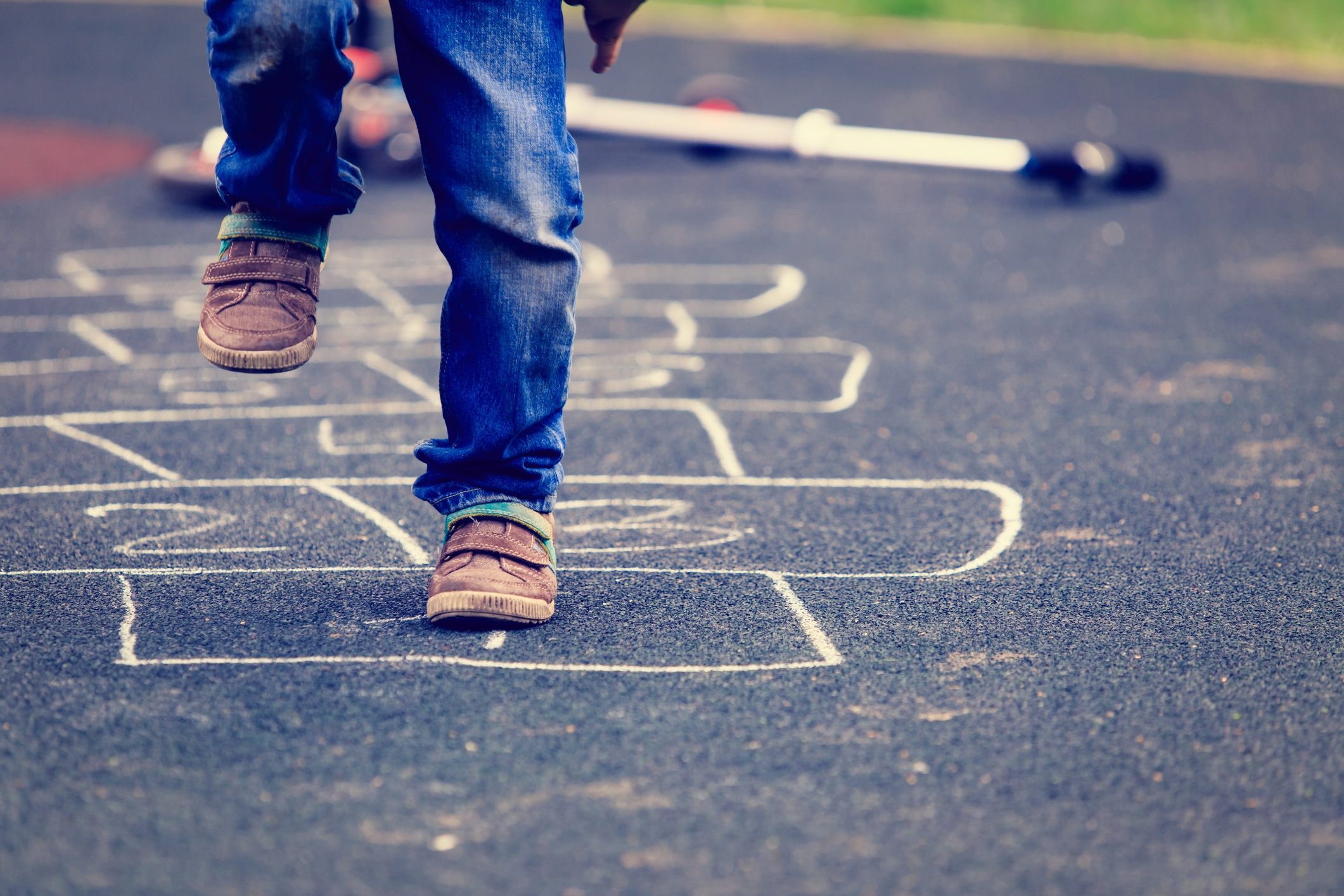 Who's Up for Hopscotch? Benefits of this Time-Tested Game