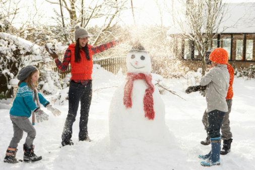 Winter Wonderland: Outdoor Games for Preschoolers