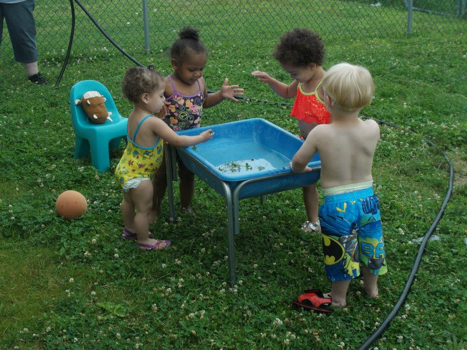 Toddler Mud Day for Sensory Play